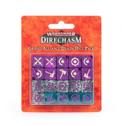 AGE OF SIGMAR -  GRAND ALLIANCE DEATH DICE PACK