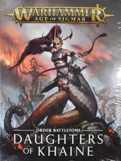 AGE OF SIGMAR -  ORDER BATTLETOME (FRENCH) -  DAUGHTERS OF KHAINE