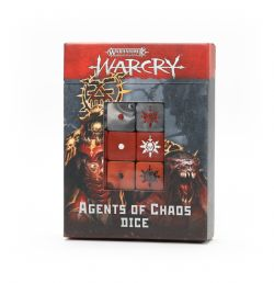AGE OF SIGMAR : WARCRY -  AGENTS OF CHAOS DICE SET