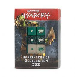 AGE OF SIGMAR : WARCRY -  HARBINGERS OF DESTRUCTION DICE SET