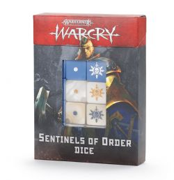 AGE OF SIGMAR : WARCRY -  SENTINELS OF ORDER DICE SET