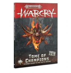 AGE OF SIGMAR : WARCRY -  TOME OF CHAMPIONS (ENGLISH)