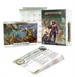 AGE OF SIGMAR -  WARSCROLL CARDS - CITIES OF SIGMAR (FRENCH)