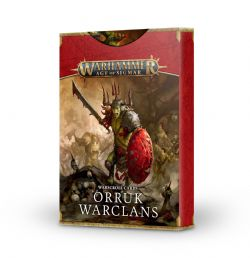 AGE OF SIGMAR -  WARSCROLL CARDS (FRENCH) -  ORRUK WARCLANS