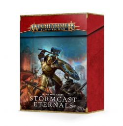 AGE OF SIGMAR -  WARSCROLL CARDS (FRENCH) -  STORMCAST ETERNALS