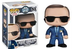 AGENTS OF SHIELD -  USED POP! VINYL FIGURE OF AGENT COULSON (4 INCH) 53