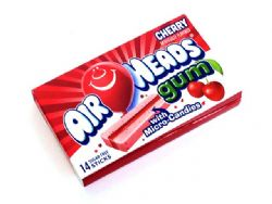 AIR HEADS -  BUBBLE GUM - CHERRY