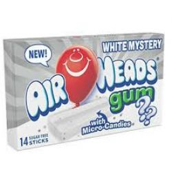 AIR HEADS -  BUBBLE GUM - WHITE MYSTERY