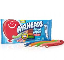 AIR HEADS -  FILLED ROPES - 5 ORIGINAL FRUIT FLAVORS