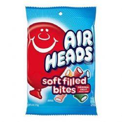 AIR HEADS -  FILLED ROPES BITES - 5 ORIGINAL FRUIT FLAVORS