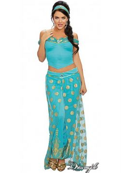 ALADDIN -  ARABIAN PRINCESS COSTUME (ADULT)