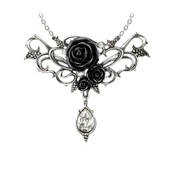 ALCHEMY GOTHIC -  BACCHANAL ROSE NECKLACE
