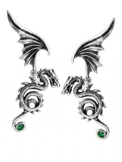 ALCHEMY GOTHIC -  BESTIA REGALIS EARRINGS