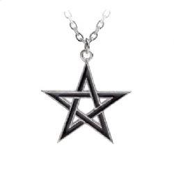 ALCHEMY GOTHIC -  BLACK STAR PENDANT