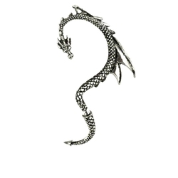 ALCHEMY GOTHIC -  EAR-RING - DRAGON'S LURE (LEFT)