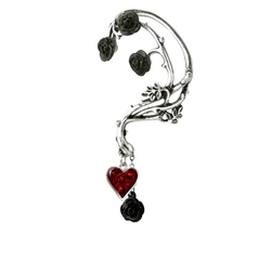 ALCHEMY GOTHIC -  EAR-WING - BED OF BLOOD ROSES