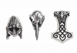 ALCHEMY GOTHIC -  NORSEBRAID HAIR BEADS (3)