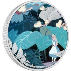 ALICE IN WONDERLAND -  ALICE IN WONDERLAND CLASSIC: ALICE -  2021 NEW ZEALAND MINT COINS 01