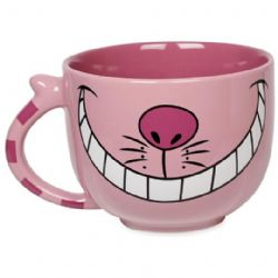 ALICE IN WONDERLAND -  PINK CHESHIRE MUG
