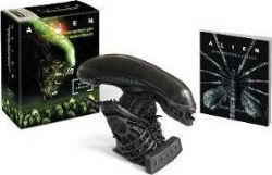 ALIEN -  HISSING XENOMORPH & ILLUSTRATED BOOK : WITH SOUND!