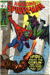 AMAZING SPIDER-MAN -  AMAZING SPIDER-MAN (1971) - VERY FINE- - 7.5 97