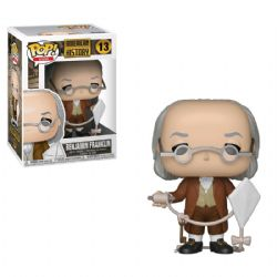 AMERICAN HISTORY -  POP! VINYL FIGURE OF BENJAMIN FRANKLIN (4 INCH) 13