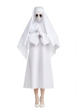 AMERICAN HORROR STORY -  THE WHITE NUN COSTUME (ADULT)