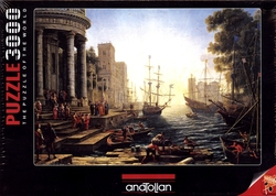 ANATOLIAN -  SEAPORT WITH THE EMBARKATION OF ST. URSULA (3000 PIECES)