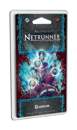 ANDROID : NETRUNNER -  QUORUM (FRENCH)