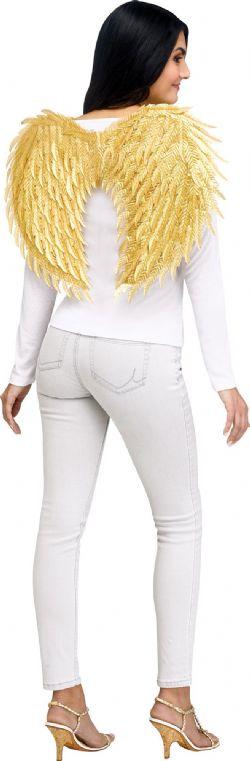 ANGEL -  METALLIC GOLD ANGEL WING SET