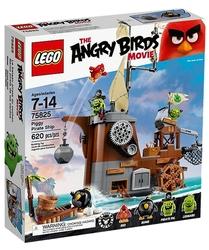 ANGRY BIRDS -  PIGGY PIRATE SHIP (620 PIECES) 75825