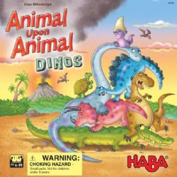 ANIMAL UPON ANIMAL -  DINOS (MULTILINGUAL)