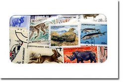 ANIMALS -  100 ASSORTED STAMPS - ANIMALS