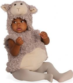 ANIMALS -  BABY LAMB COSTUME (INFANT & TODDLER)