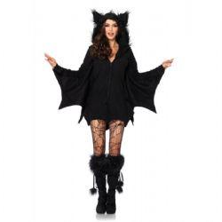 ANIMALS -  COZY BAT COSTUME (ADULT) -  BAT