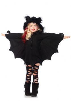 ANIMALS -  COZY BAT COSTUME (CHILD) -  BAT
