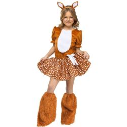 ANIMALS -  DEER COSTUME (CHILD - LARGE 12-14) -  DEER
