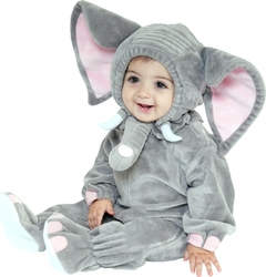 ANIMALS -  ELEPHANT COSTUME (BABY)