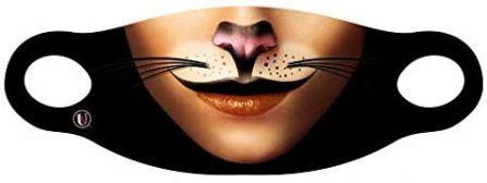 ANIMALS -  FACE MASK - CAT (ADULT)