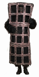 ANIMALS -  GORILLA IN A CAGE COSTUME (ADULT - STANDARD 40-42)