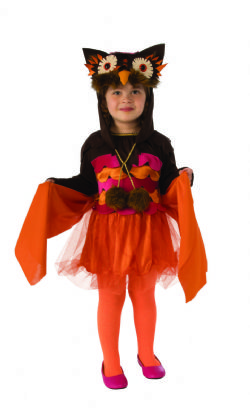ANIMALS -  HOOT OWL COSTUME (CHILD) -  OWL
