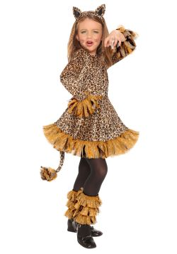ANIMALS -  LEOPARD GIRL COSTUME (CHILD) -  LEOPARD