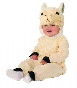 ANIMALS -  LLAMA COSTUME (INFANT & TODDLER) -  LLAMA
