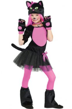 ANIMALS -  MISS KITTY COSTUME (CHILD) -  CAT