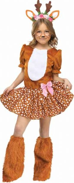 ANIMALS -  OH DEER COSTUME (CHILD) -  DEER