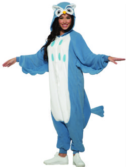 ANIMALS -  OWL COSTUME (ADULT - ONE SIZE) -  OWL