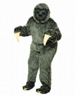 ANIMALS -  SLOTH COSTUME (ADULT - ONE SIZE)