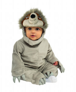 ANIMALS -  SLOTH COSTUME (INFANT & TODDLER)