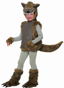 ANIMALS -  WEE WOLFIE COSTUME (INFANT & TODDLER)