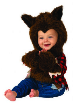 ANIMALS -  WEREWOLF COSTUME (INFANT & TODDLER) -  WEREWOLF